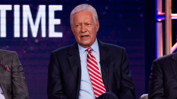 """Alex Trebek promotes ABC's """"Jeopardy! The Greatest Of All Time"""" on Wednesday, January 8, 2020, as part of the ABC Winter TCA 2020, at The Langham Huntington Hotel in Pasadena, CA."""
