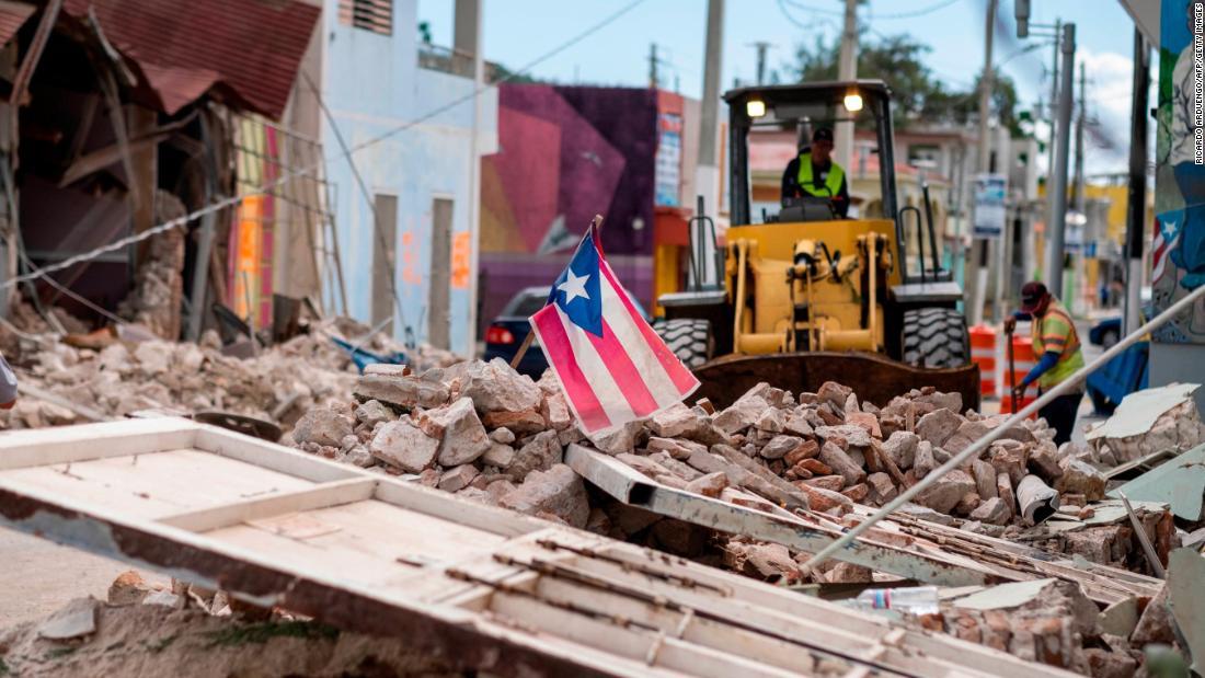Airbnb-Gastgeber öffnen Ihre Türen, um die vertriebenen Menschen, die von der Puerto Rico Erdbeben