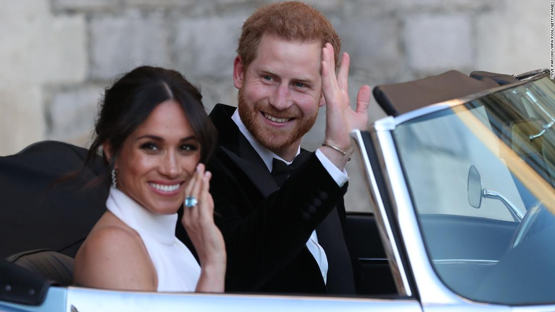 Harry and Meghan will no longer use 'His and Her Royal Highness,' Buckingham Palace says
