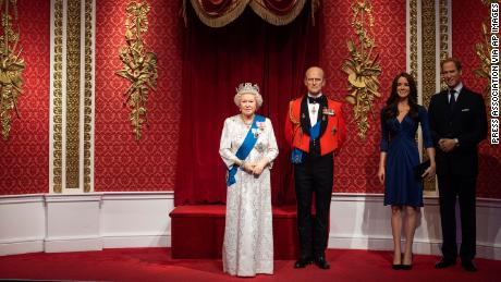 Meghan and Harry waxworks removed from Royal family display at Madame Tussauds