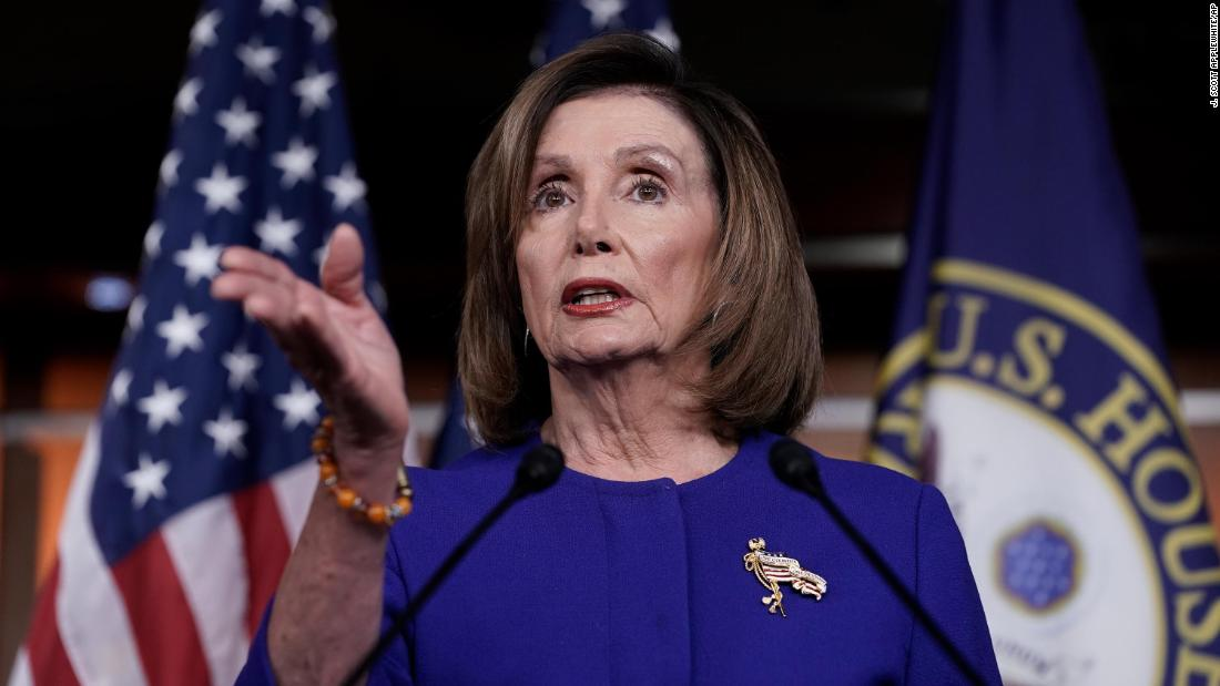 Impeachment行き詰まりを示してPelosi力