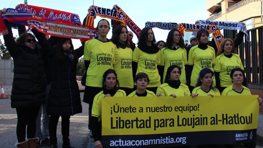 Demands for release of Saudi activist as Kingdom hosts Spanish Super Cup