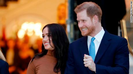 Harry and Meghan have trademarked their brand 'Sussex Royal'