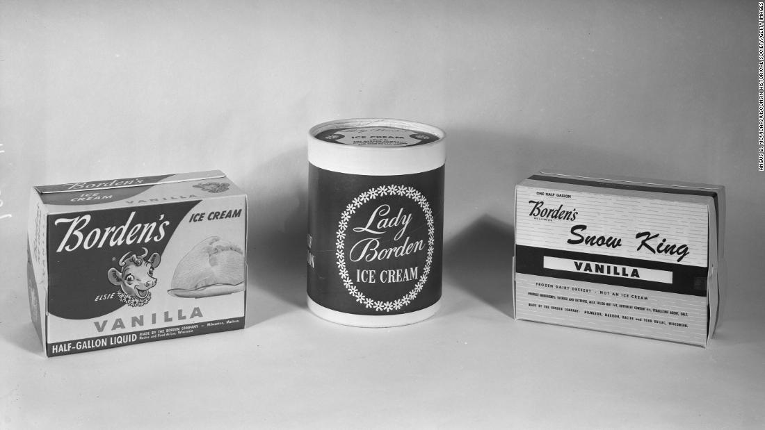 Borden dairy products from 1953.