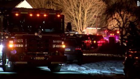 Emergency crews responded to the scene of deadly helicopter crash in a Pennsylvania neighborhood.