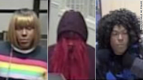 Authorities are looking for a bank robber they call the 'Bad Wig Bandit'
