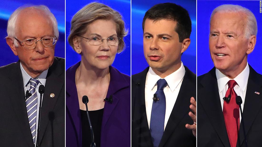 Iowa-Umfrage zeigt eine enge vier-Wege-Rennen in den letzten Wochen vor den Demokratischen fraktionssitzungen