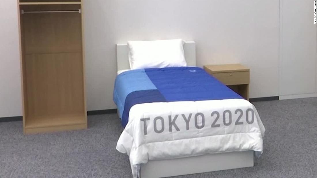 Olympians schlafen auf dieser einzigartigen Betten