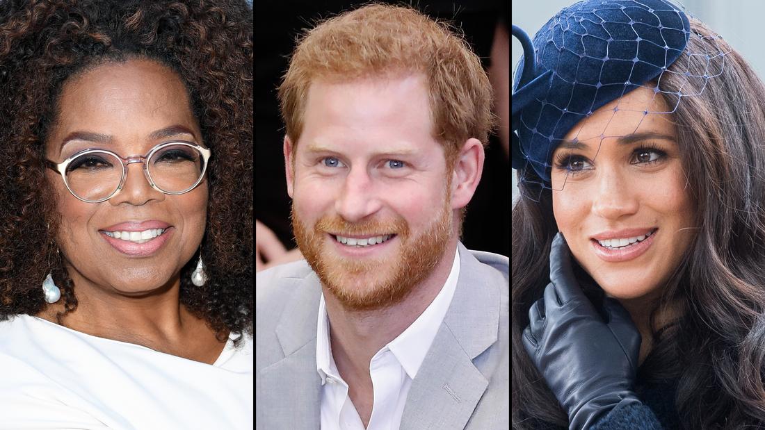 Oprah bestreitet die Beratung von Prinz Harry und Meghan