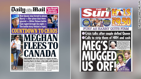 Britain's best tabloids were already chasing Meghan. Now they are twisting the knife