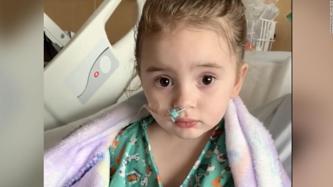 Flu leaves a 4-year-old girl blind in Iowa