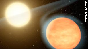 This exoplanet is in a death dance with its star