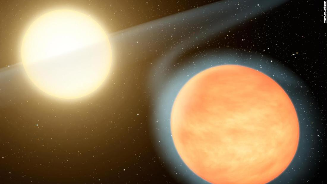 This exoplanet is in a death dance with its star - CNN