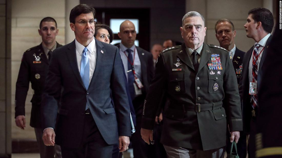 Pentagon chief confirms he was briefed on intelligence about Russian payments to the Taliban - CNN