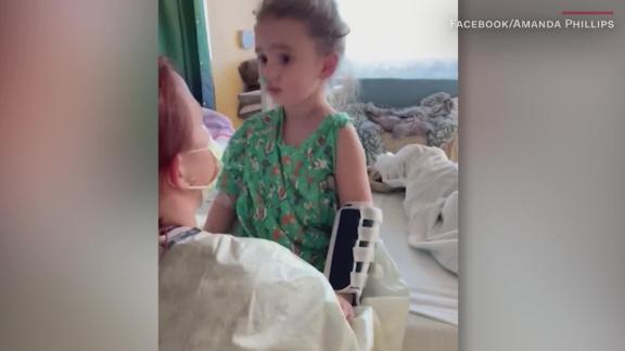 Image for Flu leaves a 4-year-old girl blind in Iowa