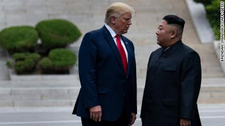 Trump seems barely capable of criticizing powerful dictators like North Korea's leader Kim Jong Un.