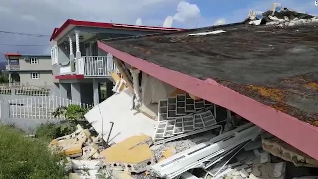 Ein weiteres großes Erdbeben trifft Puerto Rico