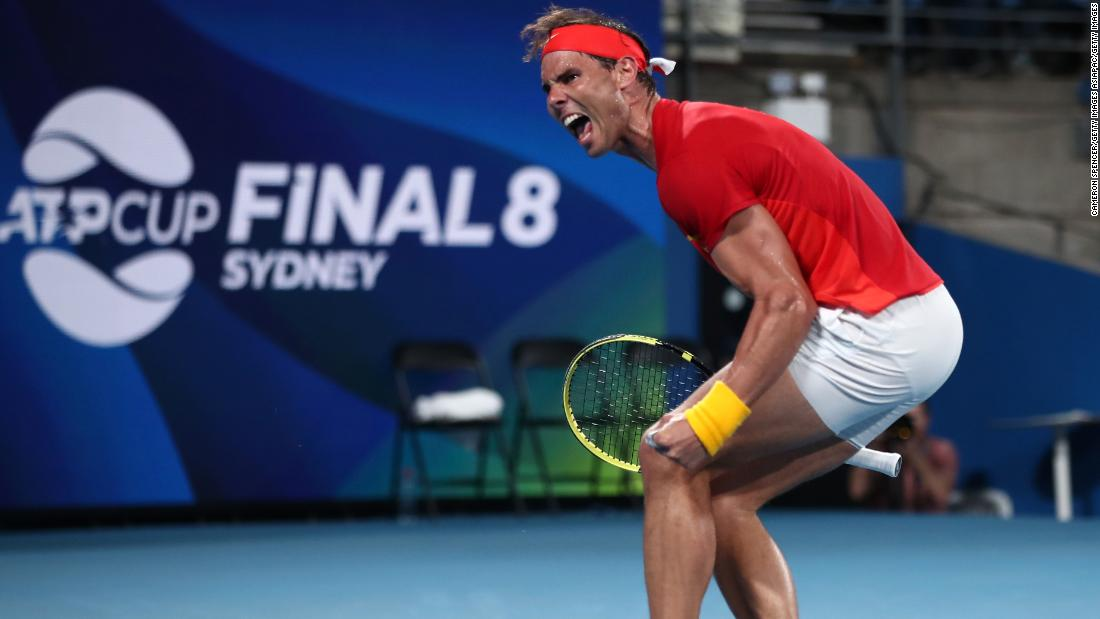 Djokovic and Nadal to meet in inaugural ATP Cup final - CNN