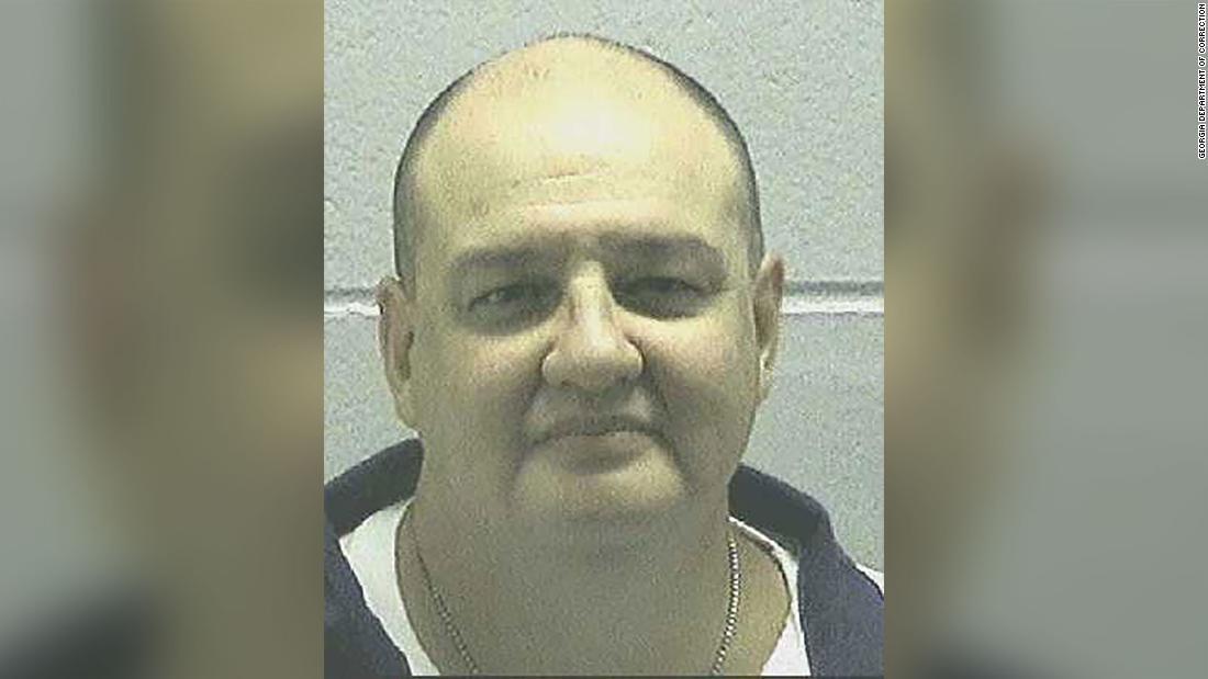 Bundesstaat Georgia zum Tode verurteilten gestellt hat, hingerichtet zu werden durch ein Erschießungskommando