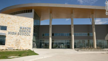 Manor Senior High School in Manor, Texas, within the Manor Independent School District.