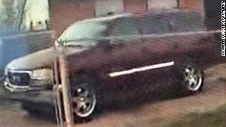 This is the maroon GMC Yukon the two were believed to have been in at some point