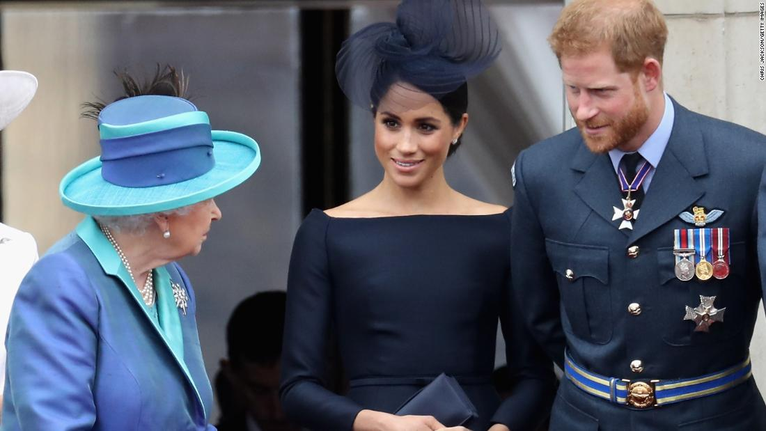 Palace to update guidance after new titles made it seem like Meghan is divorced
