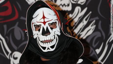 IMG LA PARKA , Adolfo Margarito Tapia Ibarra, Masked Pofessional Wrestler