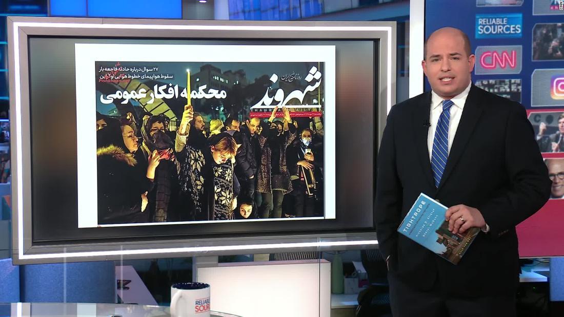 Stelter: Αυτή η κριτική στο Ιράν είναι αξιοσημείωτη