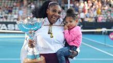 Serena Williams, fiica Alexis Olympia și soțul Alexis Ohanian fac parte și din grupul vedetelor.