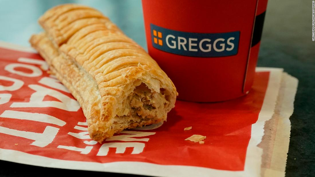 British bakery chain Greggs introduced a vegan sausage roll in 2019. The filling is made from Quorn. Barclays predicts the alternative meat sector could reach about $140 billion in sales over the next decade, capturing about 10% of the global meat industry.