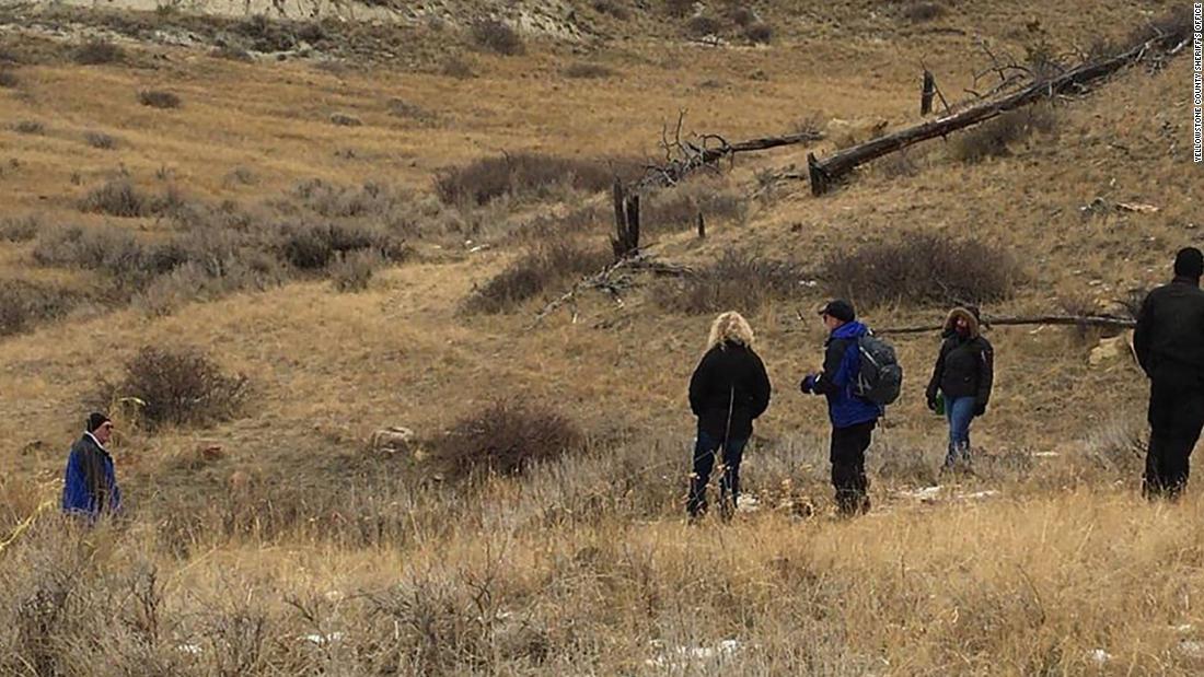 関係者の調査小型平面衝突近く、モンタナ