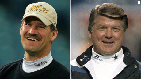 Legendary NFL coaches Bill Cowher and Jimmy Johnson found out on live TV they were elected to the Pro Football Hall of Fame