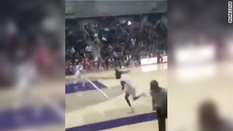 A 15-year-old male was charged with aggravated assault for a shooting at a basketball game in Dallas that left an 18-year-old male in critical condition.