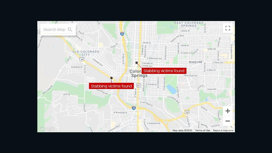 Stabbing spree Blätter 8 Verletzten in Colorado