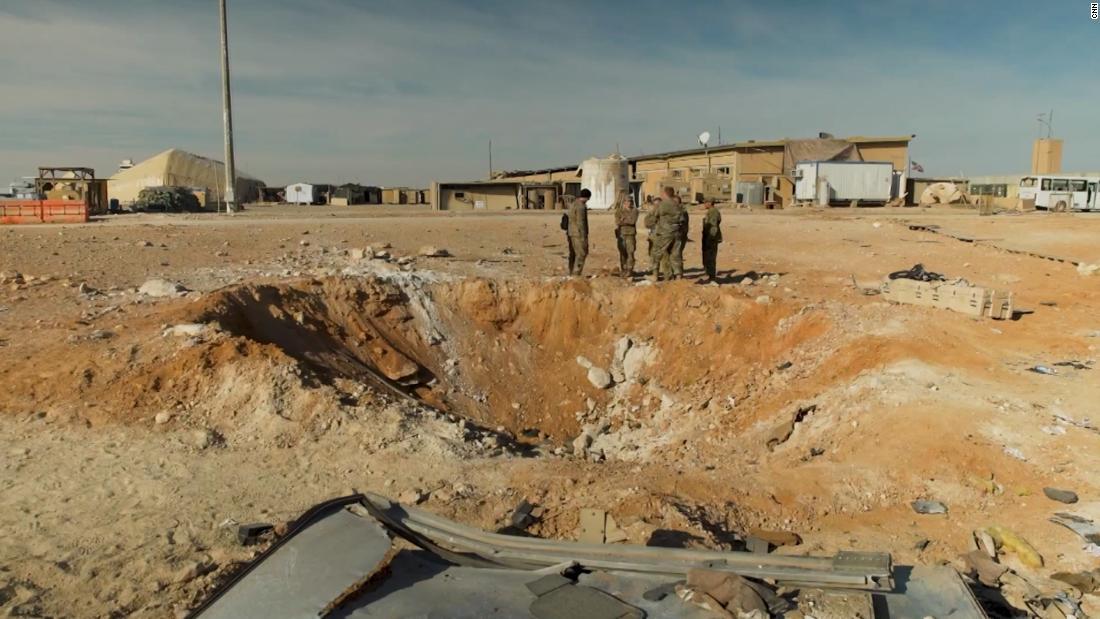米軍は追加のサービスのメンバー処理のためのケガからイランの攻撃
