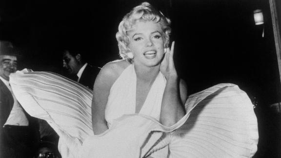"FILE - In this Sept. 9, 1954 file photo, Marilyn Monroe poses over the updraft of a New York subway grate while filming ""The Seven Year Itch"" New York. President Donald Trump has signed resolutions renaming two post offices in the Los Angeles area in honor of Monroe and rock 'n' roll legend Ritchie Valens. (AP Photo/Matty Zimmerman, File)"