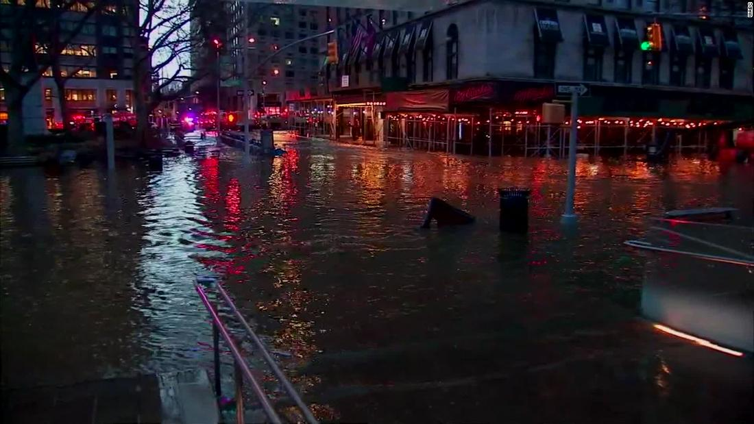 NYC水メインの休憩を妨げ通勤