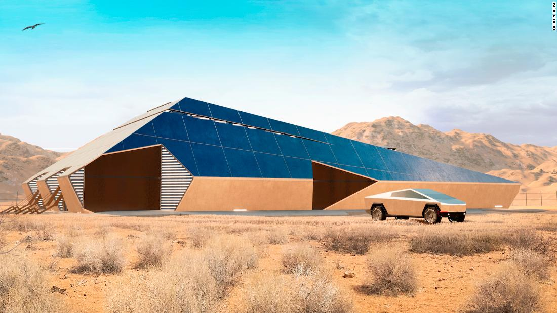 'CyberHouse': The post-apocalypse bunker of choice for Tesla fans