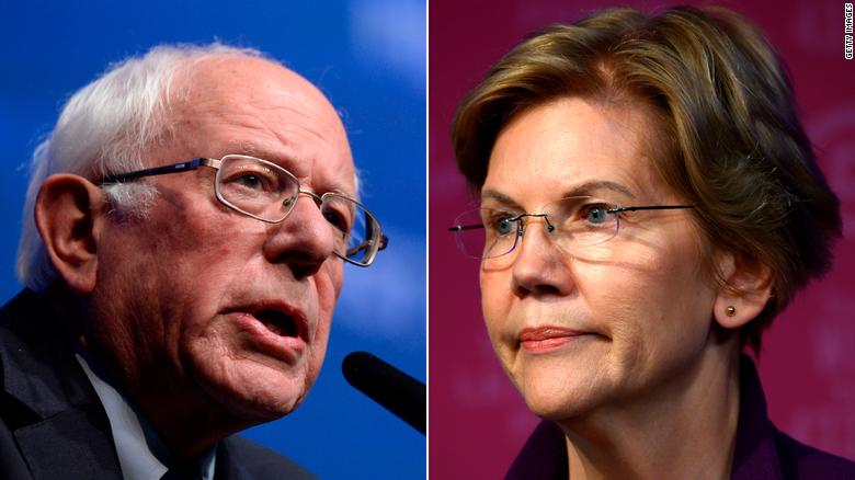 Sanders denies telling Warren a woman couldn't win