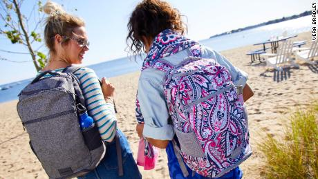 Vera Bradley launched bags in January that use recycled plastic bottle fabrics.