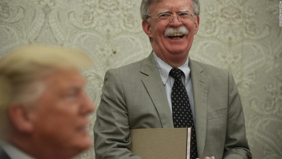 NYT: Bolton book draft says Trump tied Ukraine aid to political investigations