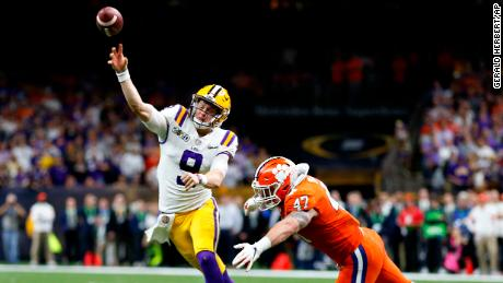 Joe Burrow, LSU complete dream season to win the national title
