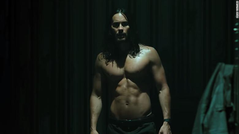 Jared Leto Morbius >> See Jared Leto As A Shirtless Vampire Villain In New Trailer