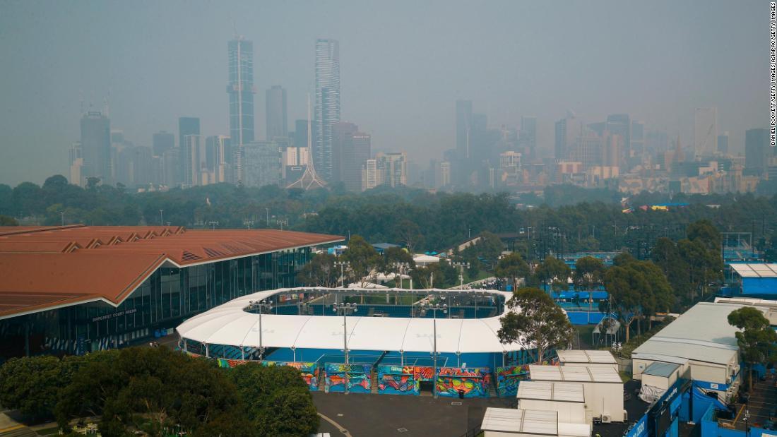 Australian Open: Schlechte Luftqualität beeinträchtigt qualifying Turnier im grand slam