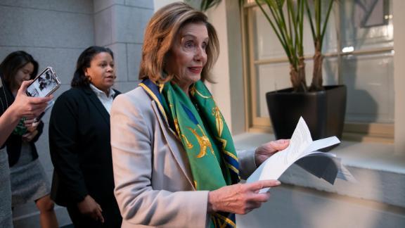 Image for Pelosi announces seven impeachment managers to argue case in Senate trial