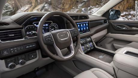 The new 2021 Yukon Denali will have a completely different interior from other versions.