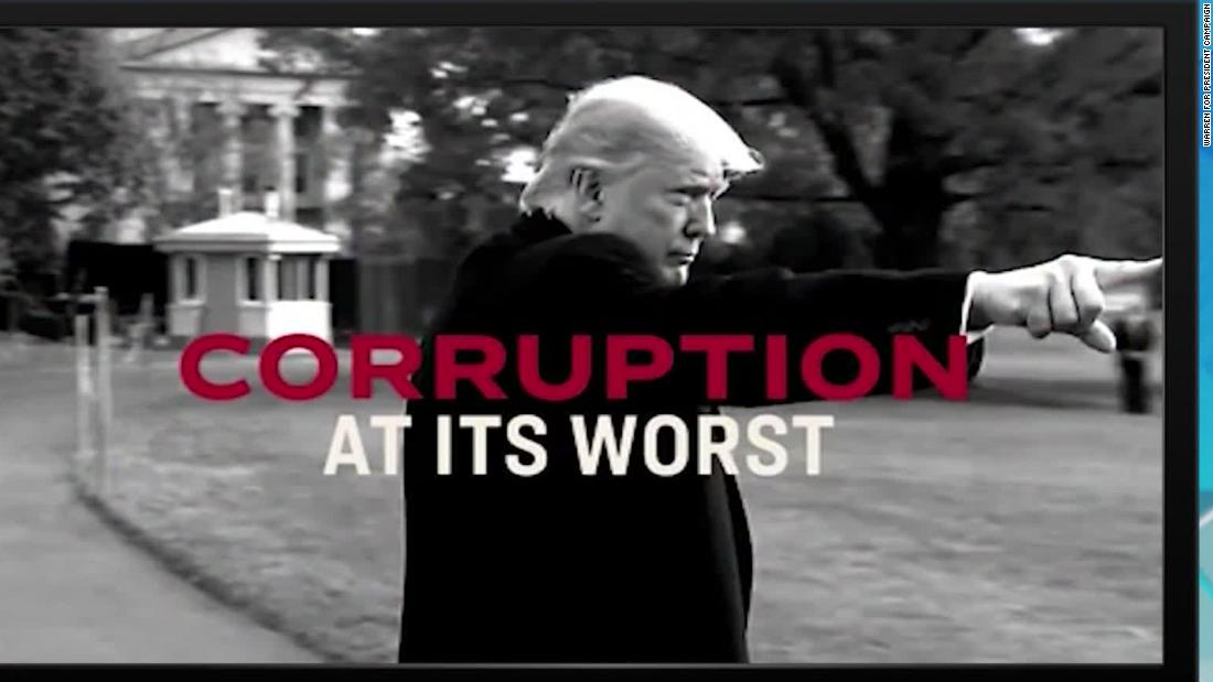 Biden uses Trump's own words to make his case in new ad