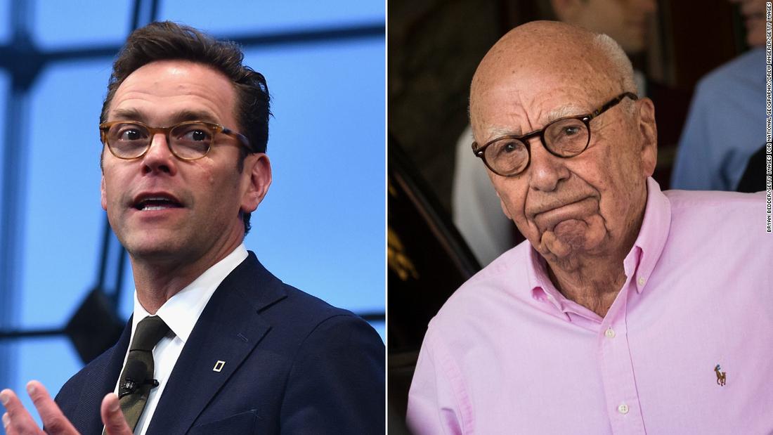 Rupert Murdochs Sohn Wimpern gegen Fox
