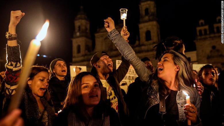 ООН заявляет об «ошеломляющем количестве» убитых в Колумбии правозащитников