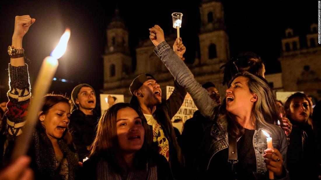 '先数の人権擁護活動家が殺害され、コロンビア、国連という